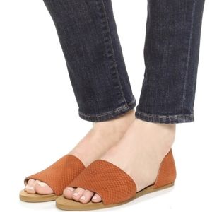 Madewell Thea Sandals in Lava Rock